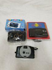 Lot of 3 35mm Cameras - SUNTONE MM251 CLICKER Focus Free BELL+HOWELL BF35