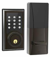 TURBOLOCK TL201 Electronic Keypad Deadbolt Keyless Entry Door Lock w/Code Bronze