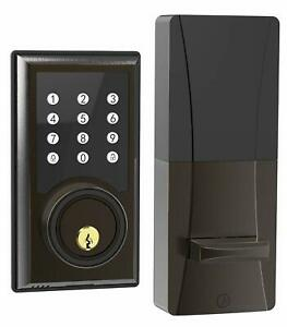 Turbolock TL201 Electronic Keypad Deadbolt Door Lock Keyless w/Code Disguise