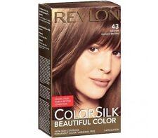 Revlon ColorSilk Beautiful Color, 43 Medium Golden Brown