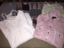 AMERICAN EAGLE Lot Of 5 Dresses, Tops, Shirts Women's Juniors Size Medium (BB)