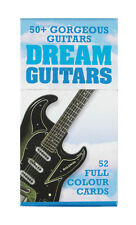 Dream Guitars Card Pack (52 Full Colour Cards in a hard case) New