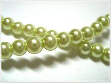 100 wunderschöne Glaswachsperlen Glass Pearls 4mm Perlen Glasperlen