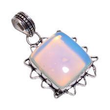 Sterlingsilber Overlay handgemacht milchig opal anhänger nlg-271 Mädchen Damen