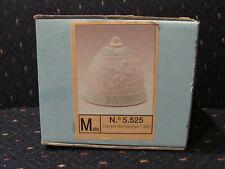Lladro #5525 1988 Porcelain Christmas Bell w/ Box Campanita Navidad Santa & Deer