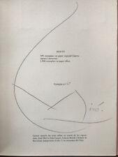 Barcelona, Joan Miro' - 1964 - Hand Signed Galeria Exhibit in Slipcase