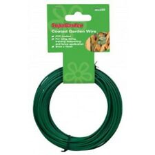 Heavy Duty green gardening Wire roll 30m x 2mm pvc coated