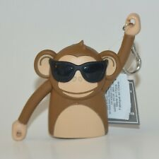 BATH BODY WORKS MONKEY GLASSES MAKES SOUND POCKET. BAC SANITIZER HOLDER SLEEVE