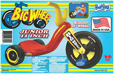 "The Original Big Wheel 11"" Mid-Size Racer Junior Trike"