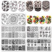BORN PRETTY Nail Art Stamping Plates Snowflake  Lace Image Templates DIY