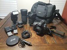 Used Nikon D700 DSLR Body (25k shutter count) + 4 Lenses + Accessories
