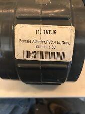 """4"""" Female Adapter Pvc Schedule 80"""