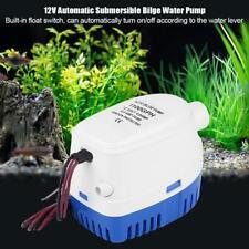 Pompe à eau de cale submersible automatique marine 1100GPH 12V