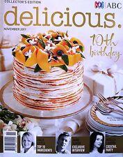 ABC Delicious Magazine - November 2011 Nigella Lawson Cocktail Party