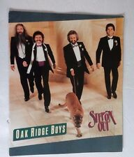 Oak Ridge Boys 1985 Step On Out Concert Tour Program and Ticket Stub Vintage