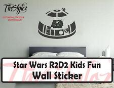 Star Wars R2D2 Kids Fun Action Oversize Wall Vinyl Sticker