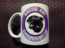 Reproduction Vintage Arctic Cat Purple Snowmobile Logo Coffee Mug