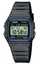 Brand New In Box Casio F-91W-YER Digital Alarm/Chronograph Watch