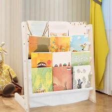 Standing Child's Bookshelf Baby Reading Rack Storage Shelf Simple Bookcase