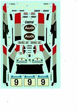 Tamiya decal 1:24 Audi Quattro Acropolis rally m. Mouton