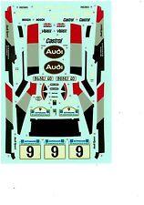 Tamiya Decal 1:24 Audi Quattro Acropolis Rally M. Mouton
