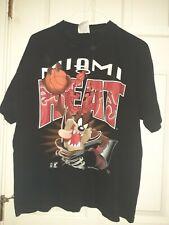 Vintage 1995 Miami Heat League Leader Looney Tunes Tasmanian Devil  Hip Hop  L