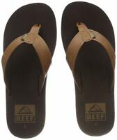 Reef Twinpin Mens Sandals | Comfortable Mens Flip Flops, Brown, Size 12.0 4n2I