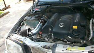 BCP BLACK 1998 1999 2000 Mercedes Benz C220 C230 C280 Short Ram Racing Intake