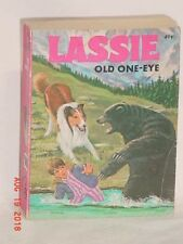 LASSIE OLD ONE EYE A BIG LITTLE BOOK GEORGE ELRICK 1975 PAPERBACK ILLUSTRATED GD
