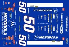 #50 AJ Foyt MOTOROLA 1995 Thunderbird 1/64th HO Scale Slot Car Decals