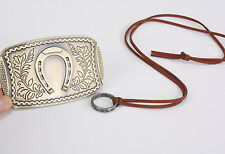 2pcs Uncharted 3 Drake's Deception Sir Francis Ring Necklace & Belt Buckle