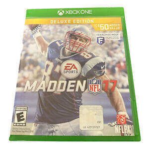Madden NFL 17: Deluxe Edition (Microsoft Xbox One, 2016) Tested Working