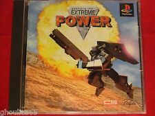 EXTREME POWER PLAYSTATION 1 EXTREME POWER PS1 PSONE JAP