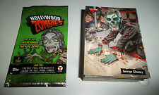 HOLLYWOOD ZOMBIES COMPLETE TRADING CARD SET + WRAPPER; TOPPS, 2007