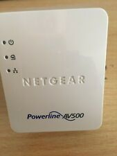 Single Netgear XAV5201 AV500 Nano Powerline Ethernet Network Adapter