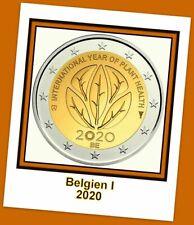 2 Euro Gedenkmünze Belgien 2020- Internationales Jahr der Pflanzengesundheit