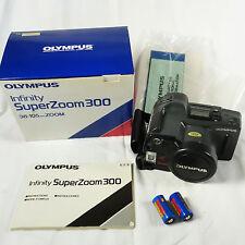 OLYMPUS Infinity Super Zoom 300: 38-105mm AF Zoom Original Box & Manual