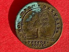 Jeton laiton Louis XIV Trésor Royal Paris Versailles finances Nuremberg