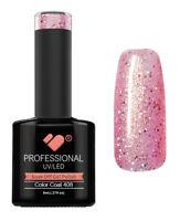 408 VB™ Line Grapefruit Sparkle Glitter - UV/LED soak off gel nail polish