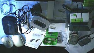 Phonak Naida B70 SP BTE hearing aids (2) w ComPilot II, microphone and TV/Music