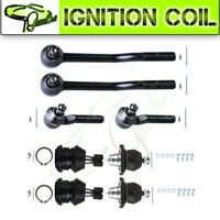 For 1995-1997 Nissan Pickup RWD Ball Joint Tie Rod End 8pcs Suspension Kit