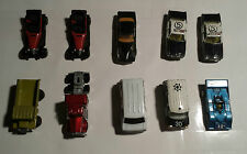 Vintage Die-Cast cars Turbo Fire bird, Police , Porsche and more