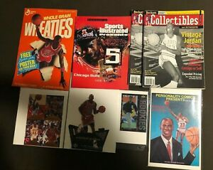 Michael Jordan Memorabilia Lot - 8 Nice Pieces - Chicago Bulls - LEGEND    NM-MT