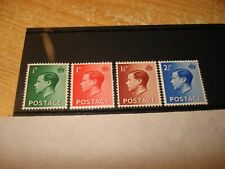 Nice Set Edward V111 - Sg 457 - 460. 1936 Mint - Mnh Set.