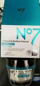 No7 Protect & Perfect Intense Advanced Day Cream (50ml) BNIB