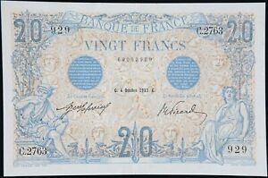 Billet 20 Francs « Bleu » France 1912