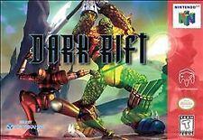 Nintendo 64 N64 Game Cartridge DARK RIFT