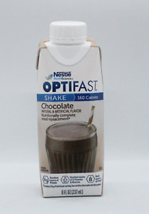 NEW FORMULA | OPTIFAST READY-TO-DRINK SHAKES | CHOCOLATE | 1 CASE | 24 MEALS