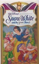Snow White and the Seven Dwarfs VHS, 1994 WALT DISNEY MASTERPIECE OOP