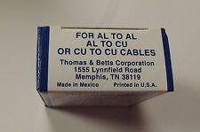 THOMAS & BETTS BLUE COLOR KEYED COMPRESSION H-TAP CRIMP 63148 20 CT